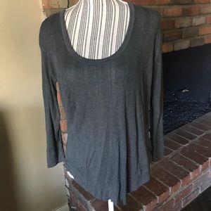 Rag & Bone Gray Lightweight Long Sleeve Shirt Sz S